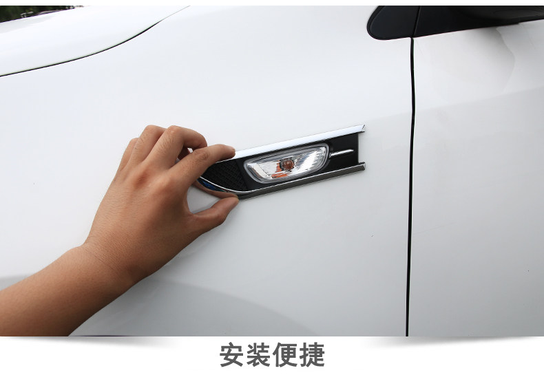 cheapest Car Accessories For Tesla Logo Fully Automatic Umbrella Car Styling stickers For Tesla MODEL S MODEL X MODEL 3 MODEL Y