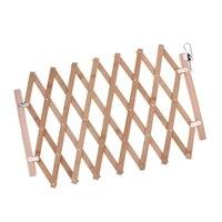 Pet Schutz Holz Tür Klapp Hund Tor Ausbau Tragbare Zaun 41x100cm