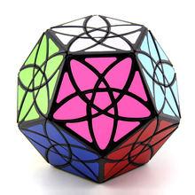 Original de alta qualidade mf8 bauhinia megaminxeds cubo mágico 3x3 dodecahedron starminx distorcido velocidade quebra-cabeça presente natal crianças brinquedos