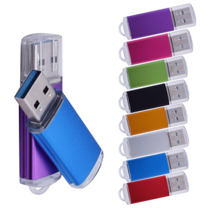 USB 3.0 Flash Drive Metal 4GB 8GB 32GB 64GB High Speed Flash Memory Stick Rotating 16GB Pendrive Flash Stick for Desktop Laptop