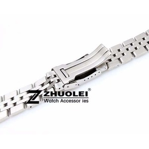 Image 3 - 22mm 24mm High Quality Solid Stainless Steel Watch Bracelet for mens  Breitling watch band