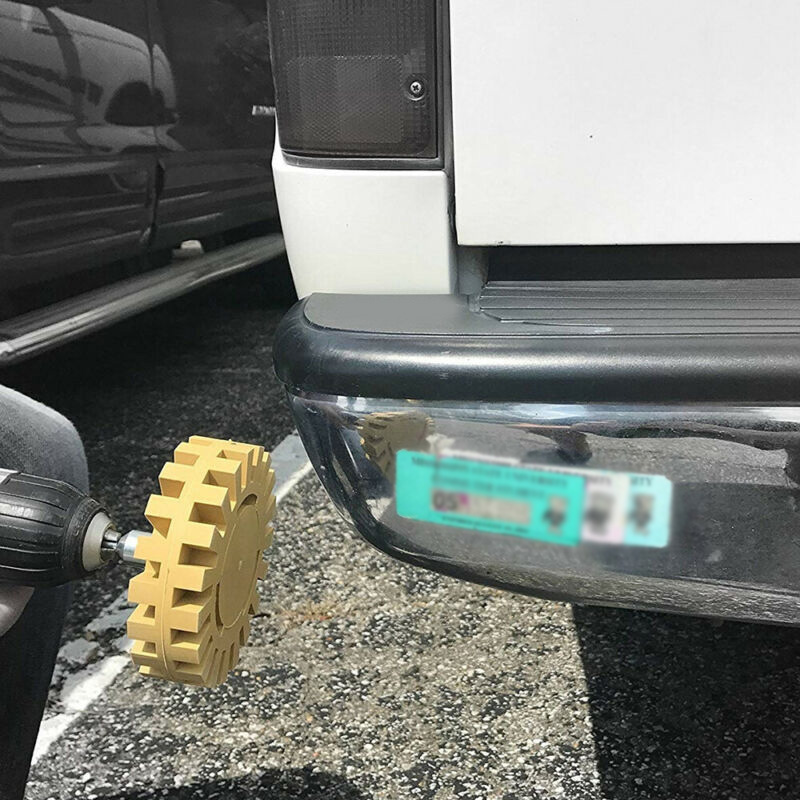 Removal Rubber Eraser Wheel CNC Abrasive Decal Set Drill Adapter Car Pinstripe Polishing Tool Practical