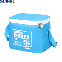 SANNE 5L Solid color cooler bag thermal waterproof portable insulated ice pack can carry food and drink