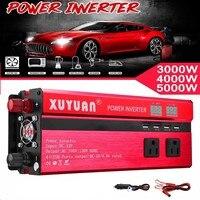 Solar Power Inverter 3000W/4000W/5000W/8000W/10000W DC 12/24V To AC 110V/220V Sine Wave Converter Voltage Transformer Charger