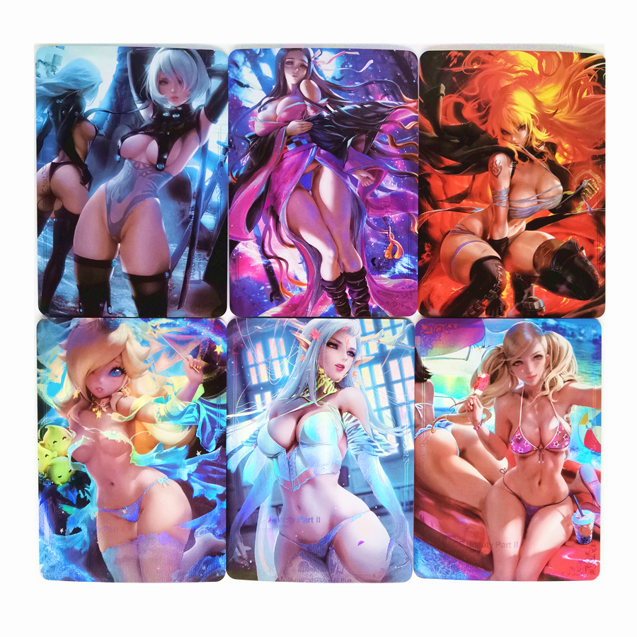ACG BEAUTY 2 Sexy Girls No.6 Toys Sixth Bomb Hobbies Hobby Collectibles Game Collection Anime Cards