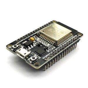 Image 2 - ESP32 ESP 32 ESP32S ESP 32S CP2102 bezprzewodowy WiFi rozbudowanie o funkcję Bluetooth pokładzie Micro USB dwurdzeniowy moduł wzmacniacza mocy