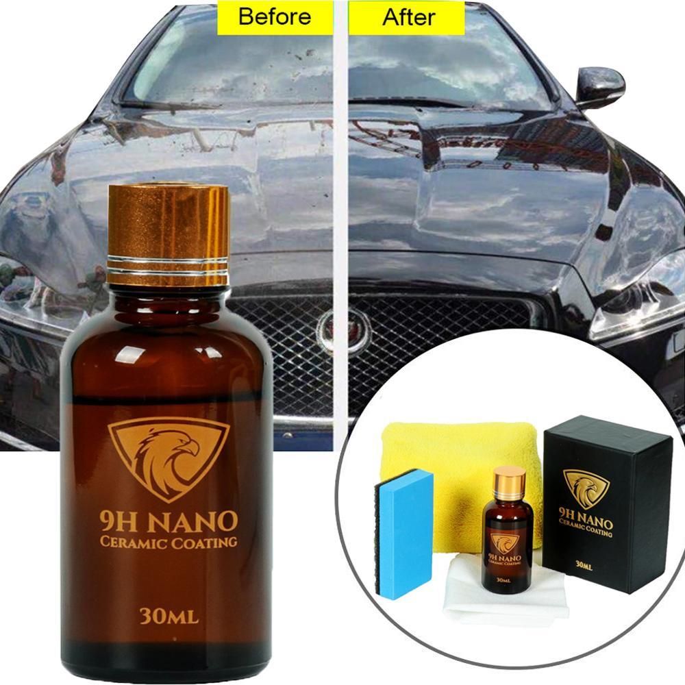 9H Anti Scratch Car Liquid Ceramic Coating Protection Coating Car Kit Liquid Glass Nano Hydrophobic Ceramic Coating Car Polish