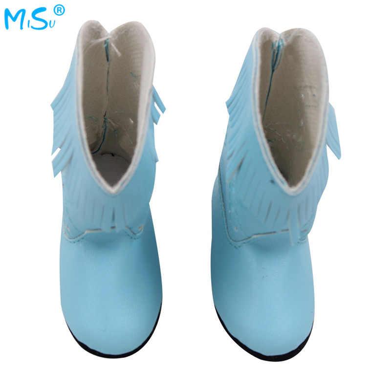 מכירה לוהטת בובת נעל 18-אינץ אמריקה GIRL של 43cm Schaaf בובת 7 Cm צעצוע מגפי להתאמה אישית