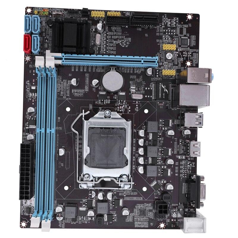 Профессиональная материнская плата B75 LGA 1155 DDR3 ram USB 3,0 2,0 плата с поддержкой Core I3 I5 I7 Quad cpu двухканальный настольный компьютер Ma