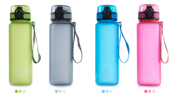 H558d2e5b73f54a4e80890eddb1c0b383i Soffe Tritan Plastic Sport Drink Bottle Elastic Cover Space Bottle Riding Hiking Student Portable Outdoor Sport Water Bottles