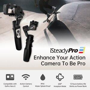 Image 5 - Hohem iSteady Pro 3 مثبت Gimbal ، 3 محاور ، مقاوم للماء ، لـ DJI Osmo Action GoPro Hero 7 6/5/4/3 Sony RX0 لـ SJCAM
