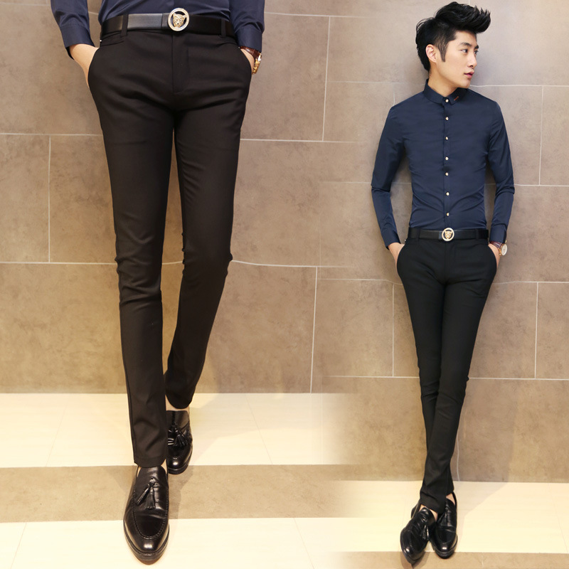 Purchasing Agents Supply Of Goods Men Casual Trousers Fashion Korean-style Slim Fit Pants Pants Fashion Man