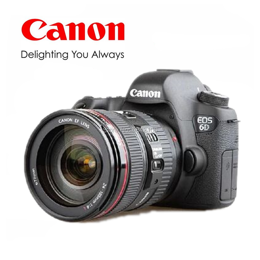 Second hand Canon EF24-105 mm f / 4L is USM with Canon 6D full frame digital SLR camera