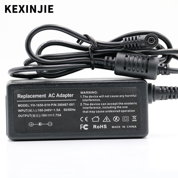 ASUS 19V 1.75A 33W AC Laptop Power Adapter Travel Charger For ASUS Vivobook S200 S220 X200T X202E X553M Q200E X201E ADP-33AW asus ac laptop power adapter travel charger for asus 2 5 0 7mm 19v 2 1a 40w adp 40ph ab power supply charger