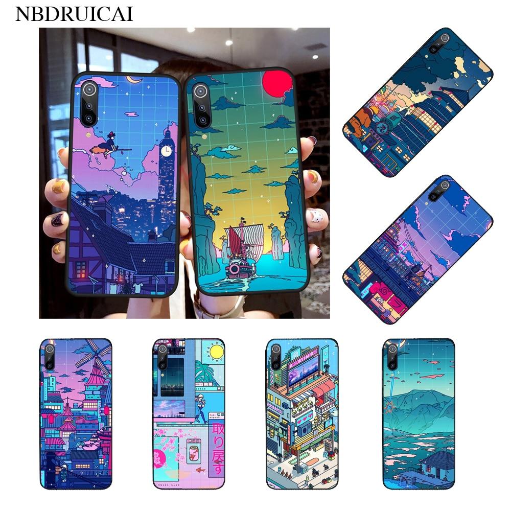 NBDRUICAI Cyberpunk Konoha Custom Photo Soft Phone Case for Xiaomi 8 9 se 5X Redmi 6pro 6A 4X 7 5plus note 5 7 6pro(China)