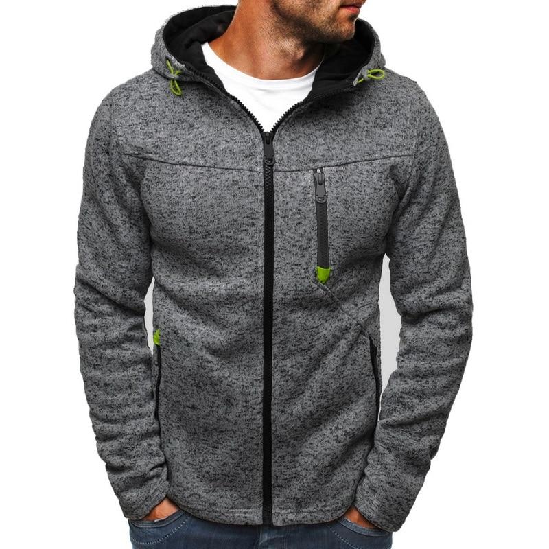 Mens Hoodies Sweatershirt Zipper Patchwork Cardigan Sweatshirts Hoodies Jacket Fashion Causal Streetwear Hoodie Sweatshirt Men
