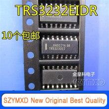 10 pçs/lote novo original trs3232eidr trs3232ei trs3232 remendo sop16 rs232 transceptor importado original em estoque