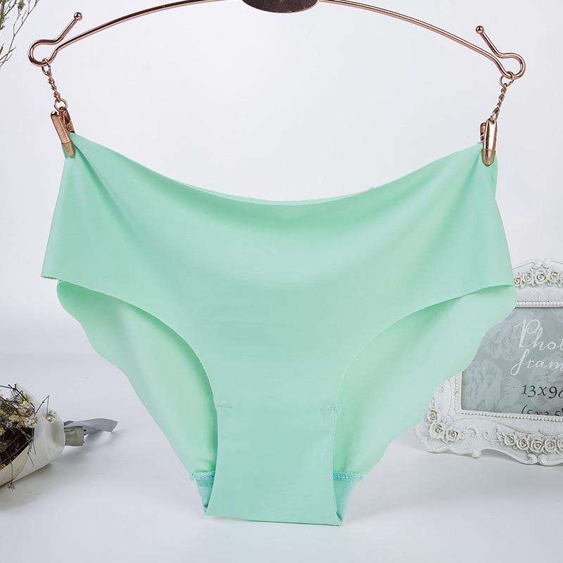 Women's panties, underwear, slim, viscose, ladies seamless panties, comfortable, low waist, ruffles, sexy lingerie, new summer,