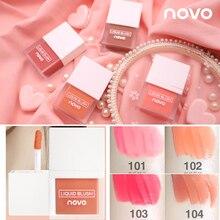 NOVO Face Makeup Juice Liquid Blush 4 Colors Liquid Blusher Women Waterproof Maq