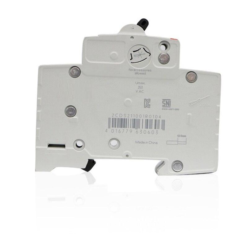 diminuto disjuntor interruptor de ar 4 p