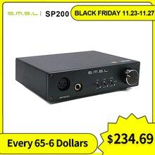 Smsl sp200 thx aaa 888 tecnologia amplificador de alta fidelidade equilibrada com xlr rca entrada fone de ouvido amplificador