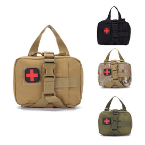 Image 1 - First Aid kit Tactical Outdoor Camping Medical Portable Military Hike  Medicine Package Emergency Oxford Cloth Waist Pack