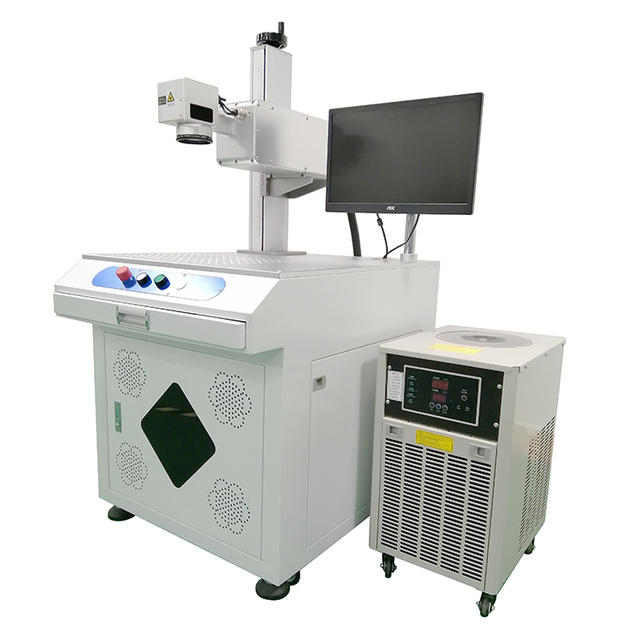 3W UV N95 Face Mask Laser Marking Machine 355nm Laser Marker Glass Cup Crystal Engraving Plastic Earbuds Lamp Gobo Lens 2