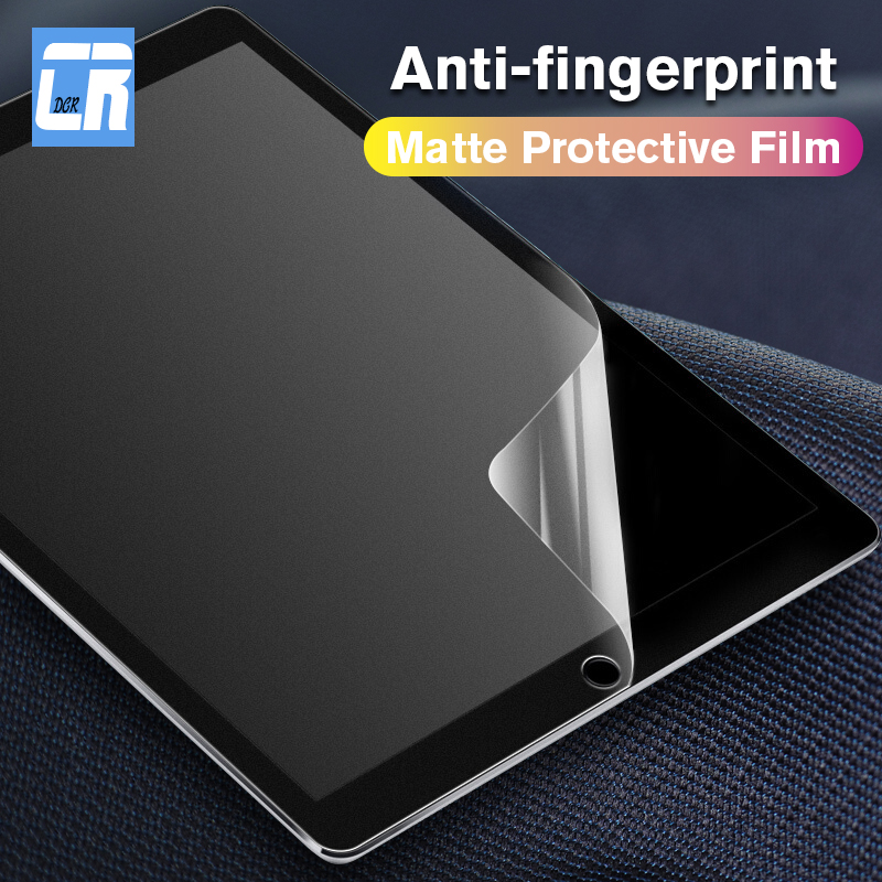 Matte Screen Protector For Apple IPad 2 3 4 5 PET Anti Glare Film For IPad Air 1 2 Protective Soft Film For Ipad Mini 1 2 3 4 5
