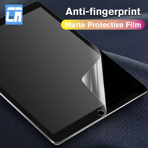 Matte Screen Protector for Apple iPad 2 3 4 5 PET Anti Glare Film for iPad Air 1 2 3 Protective Soft Film for ipad Mini 2 3 4 5