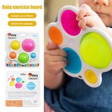 Treinamento de concentração do bebê placa de descompressão brinquedo bebê educação precoce inteligência desenvolvimento e treinamento intensivo brinquedos