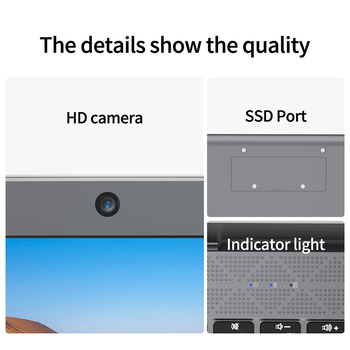 Laptop KUU XBook, 14.1″ FHD (1.920×1.080) IPS, Intel Celeron J4005, 8GB RAM, 256GB/512GB SSD, Ultra HD Graphics 600, Windows 10 5