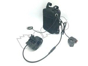 Image 4 - 500 ワットブースターバッテリなし修正された原付キット自転車摩擦ドライブ DIY 電動自転車 500 ワットブラシレス高速モーター