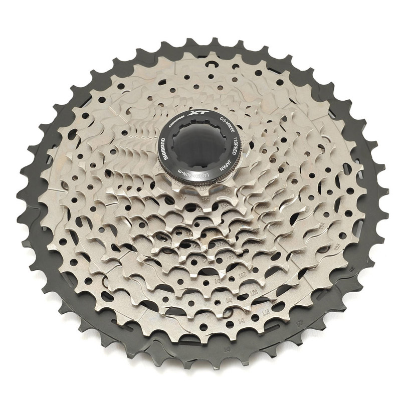 SHIMANO CS DEORE XT M8000 <font><b>11</b></font> Speed <font><b>11</b></font>-42T MTB Bicycle Bike <font><b>Cassette</b></font> Freewheel image