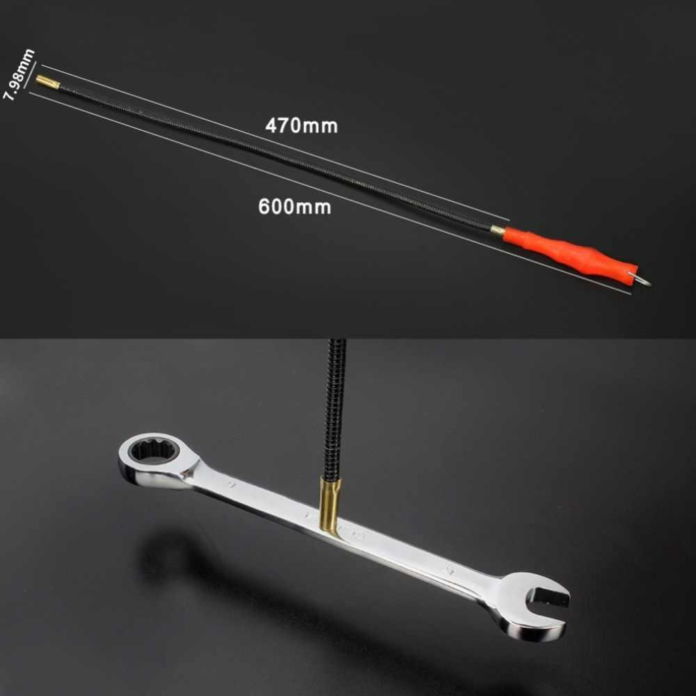 Haste de sucção de ferro curvo vara de sucção metal pick haste magnética haste magnética parafuso dispositivo de picareta