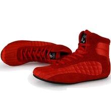 Taobo profissional sapatos de levantamento de peso para homem e mulher agachamento treinamento couro anti deslizamento resistente sapatos de levantamento de peso tamanho 36