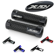 For Honda ADV 750 X-ADV CNC Motorcycle Aluminum Grip Handlebar Handle Grips None-Slip Rubber