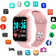 New Fashion Smart Watch Women Men Smartwatch For Android IOS