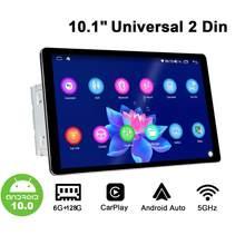 JOYING-autorradio con Android 10 para coche, reproductor Multimedia Universal con Android 10, 6GB, 128GB, estéreo, HD, 1280x800, Carplay inalámbrico
