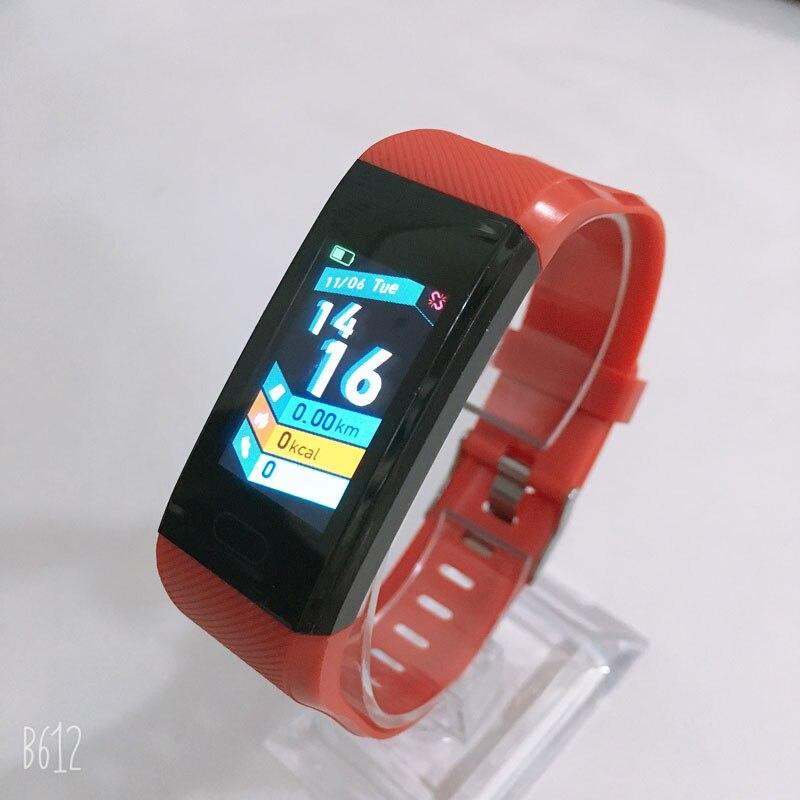 H5590f2905cd641369e43e602c926dcf75 Fitness Bracelet Blood Pressure Measurement Waterproof Smart Band Bracelet Watch Fitness Tracker Heart Rate Activity Tracker