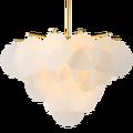 Современный Железный подвесной светильник светодиодный акриловый подвесной светильник для гостиной подвесной светильник для спальни под...