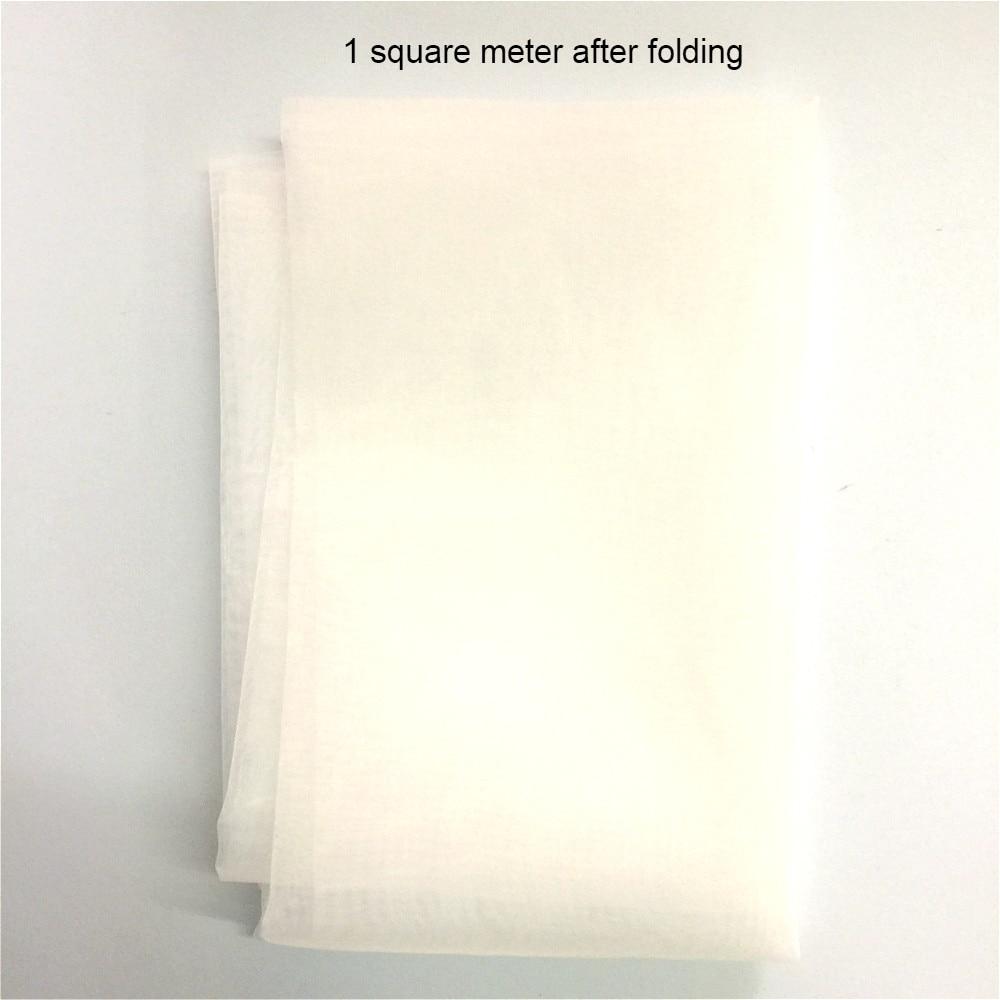 Купить с кэшбэком Nylon Filter Cloth 100 Mesh/In 150 Micron Gauze Water Soya Bean Paint Screen Coffee Wine Net Fabric Industrial Filter Mesh 1m*1m