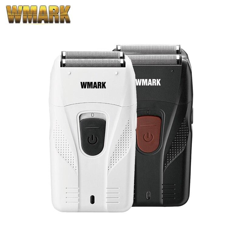 WMARK yeni NG-987 berber tıraş şekillendirici tıraş makinesi elektrikli tıraş makinesi sakal USB elektrikli tıraş bıçağı yağ kafa tıraş makinesi itme beyaz