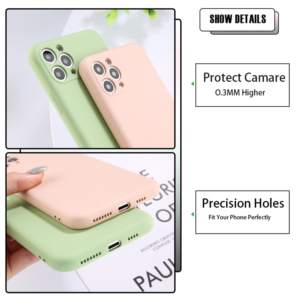 Candy Color Phone Case And Protective Shell Back Cover For Mobile Phones 7