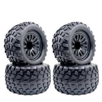 4PCS 130MM Bigfoot Tires Are Suitable for 1:10 Monster Truck Tires 94111 94188 94108 HPI насос wester wcp 25 40g 130mm