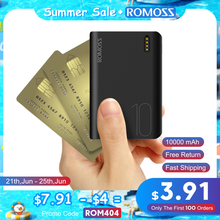 Внешний аккумулятор Romoss Sense 4, 10000 мАч