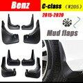 Для Mercedes Benz C класса W205 2015 ~ 2021 Fender Брызговики аксессуары для брызговиков Benz C180 C200 C260 C300 брызговики