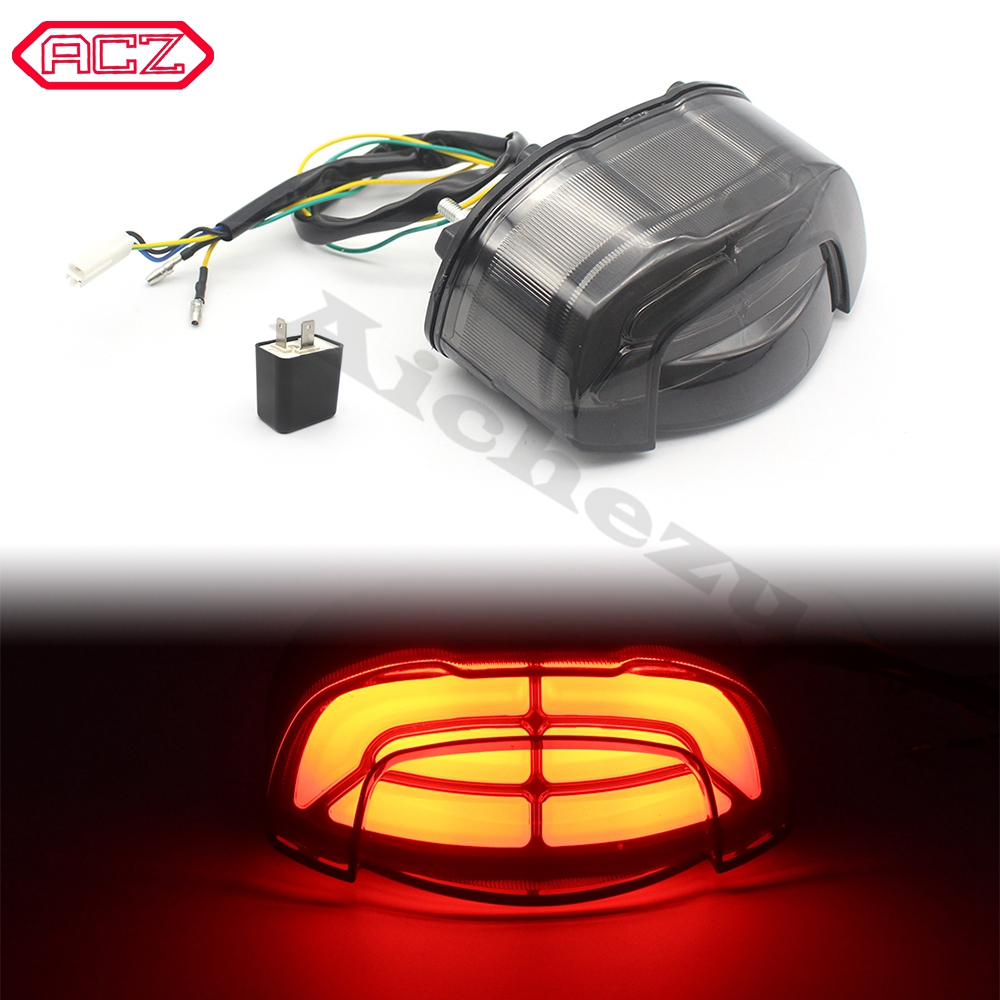 Motorcycle Rear Tail LED Brake Turn Signal Flashing Parking Light for Honda CB650R CB650 R CB6 50R