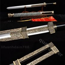 SWORD BLADE Japan-Style Chinese Full-Tang Wood 1060 Metal SHARP Sports Origin Cn Chi-Bi