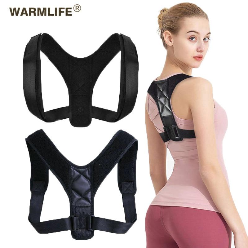 Back Posture Corrector Belt Adjustable Clavicle Spine Back Shoulder Lumbar Posture Correction