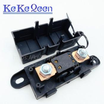 1 Uds ANM-H3 MEGA fusible automático titular/ANM Bolt-portafusibles de cuchilla plana tipo fusible 50A 60A 70A 80A 100A 125A 175A 200A 225A -500A 1